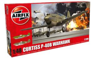 AX05130 Curtiss P-40B Warhawk